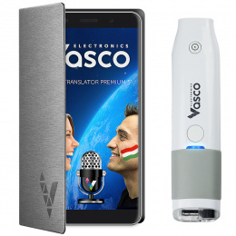 "Vasco Translator Premium 5"" + Skanneri"