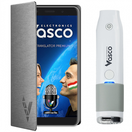 "Vasco Translator Premium 5"" + Skanneri"