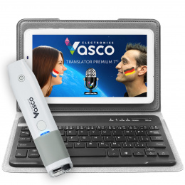 "Vasco Translator Premium 7"" + Näppäimistö + Skanneri"